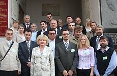 Фото участников конференции «Проблемы авиационной орнитологии». 2009 г.